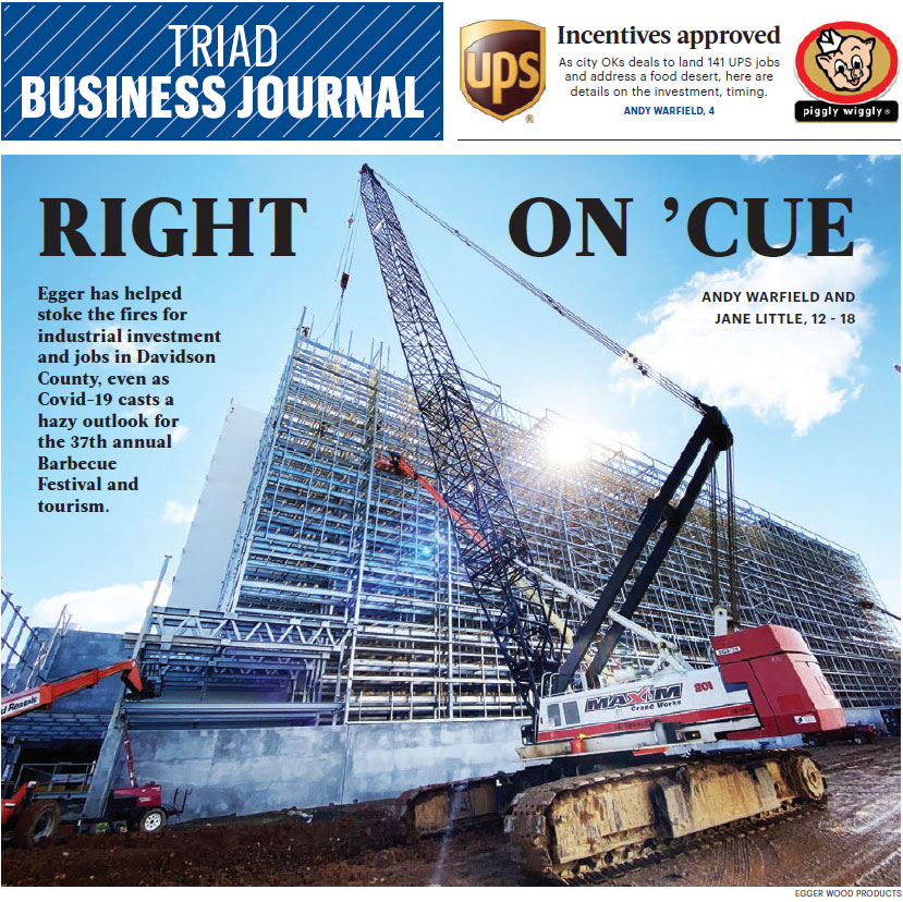 Triad Business Journal Cover Image
